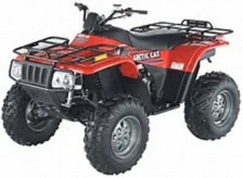Product picture 2003 Arctic Cat ATV Factory Service Manual